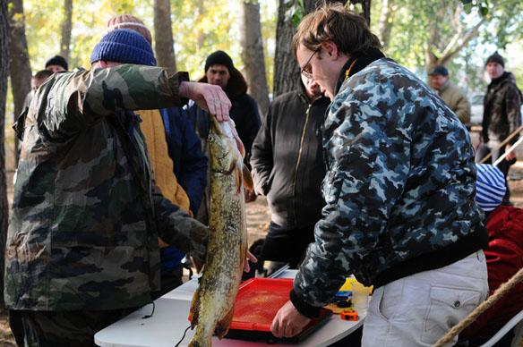 2 октября 2010 - Первое в городе Открытое первенство по подводному рыболовству