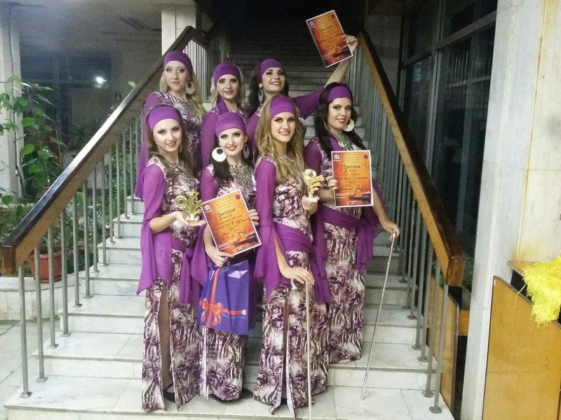 «Magic Stars» успешно выступили на чемпионате по bellydance в Ульяновске