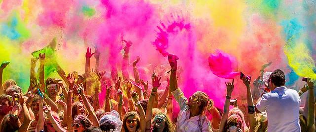 В Сызрань возвращается фестиваль красок Холи