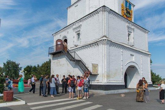 Спасская башня сызранского Кремля стала площадкой для мастер-класса звонарей