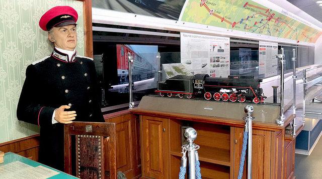 В Сызрань прибыл уникальный поезд-музей РЖД