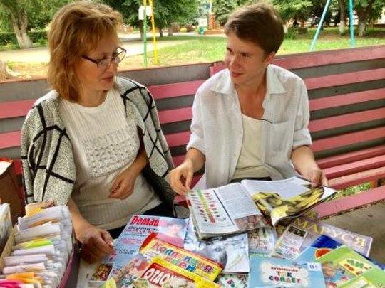 Вчера в детском парке «Гномик» в Сызрани открылся летний читальный зал